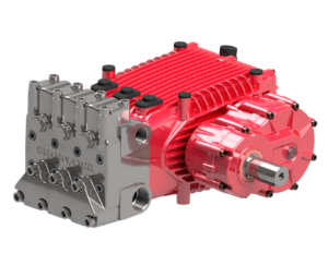 Dominator® Triplex Pump Side View